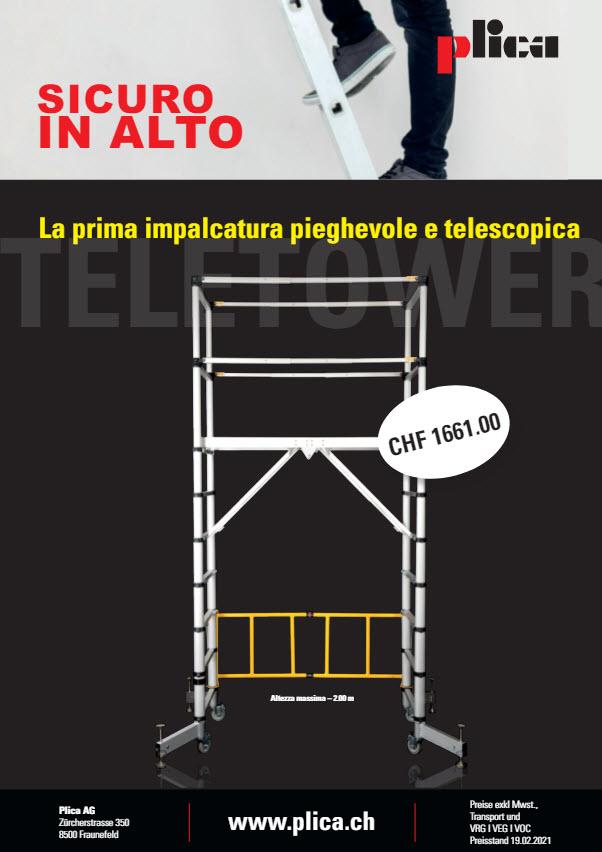Plica Elektrikerschere Italienisch