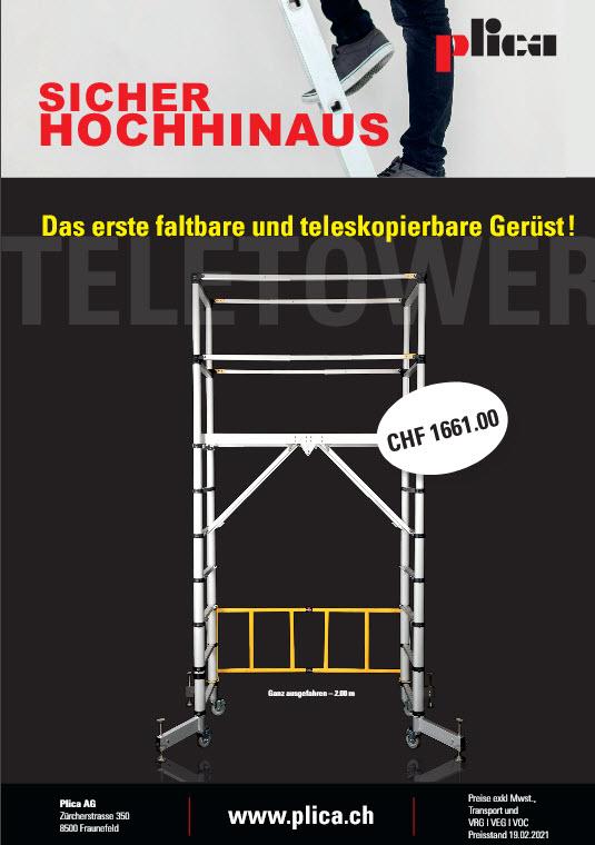 Plica Teletower Deutsch