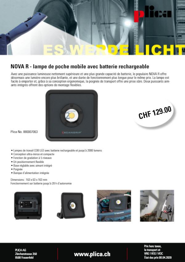 Plica Worklight NovaR Franz